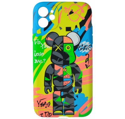 Чехол Luxo Toys для iPhone 11 c принтом силиконовый (12...