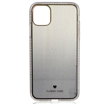 Чехол Gradient line для iPhone 11 черный