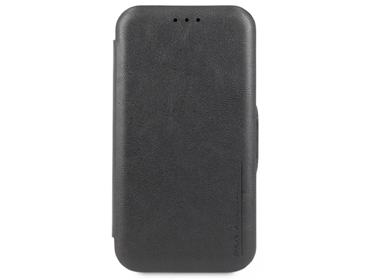 Чехол-книжка Puloka для iPhone 11 на магните черная в Тюмени
