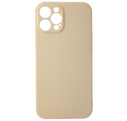 Чехол Soft-Touch для iPhone 12 Pro Max бежево-розовый