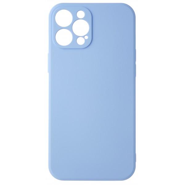 Чехол Soft-Touch для iPhone 12 Pro Max светло-голубой