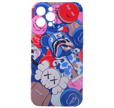 Чехол Luxo Toys для iPhone 12 Pro Max c принтом силикон...