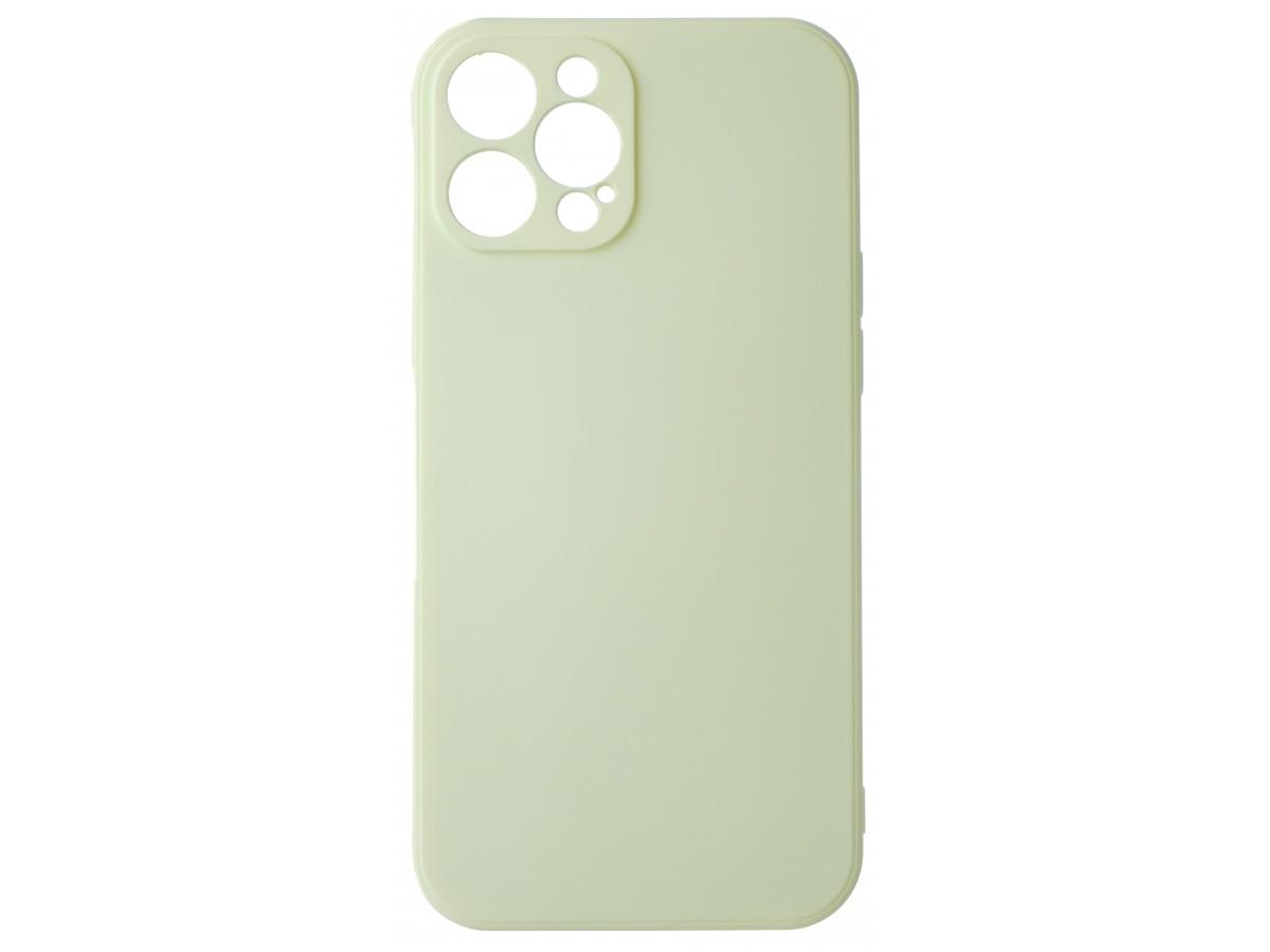 Чехол Soft-Touch для iPhone 12 Pro Max бежевый в Тюмени
