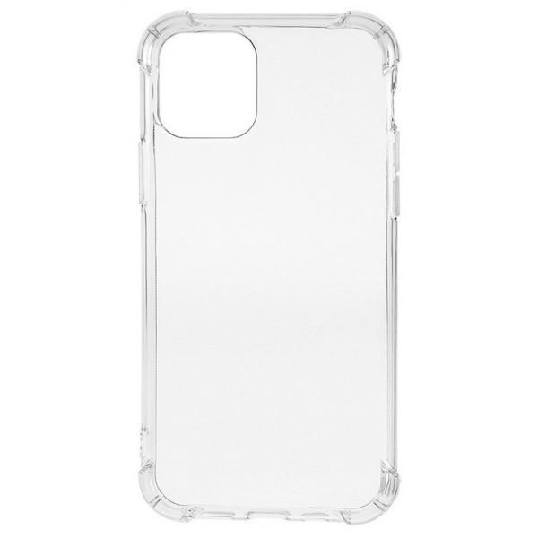 Чехол Armor противоударный для iPhone 12 Pro Max силиконовый прозрачный