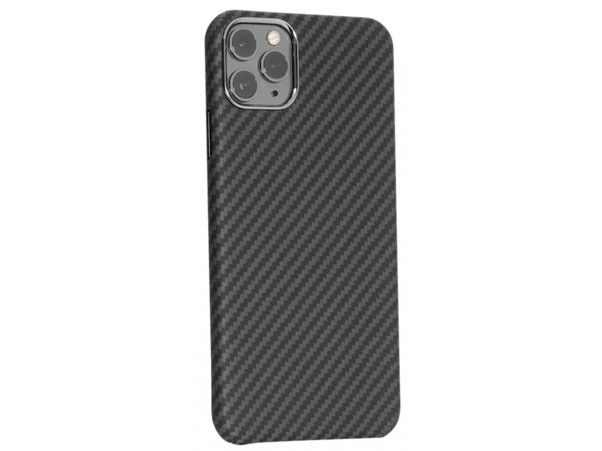 Чехол Kevlar K-DOO iPhone 12 Pro Max черный в Тюмени