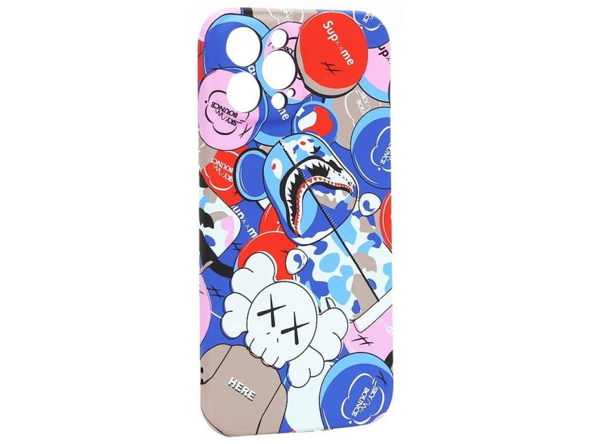 Чехол Luxo Toys для iPhone 12 Pro Max c принтом силиконовый (6) в Тюмени