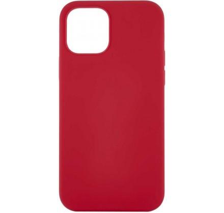 Чехол Soft-Touch для iPhone 12 Pro Max красный
