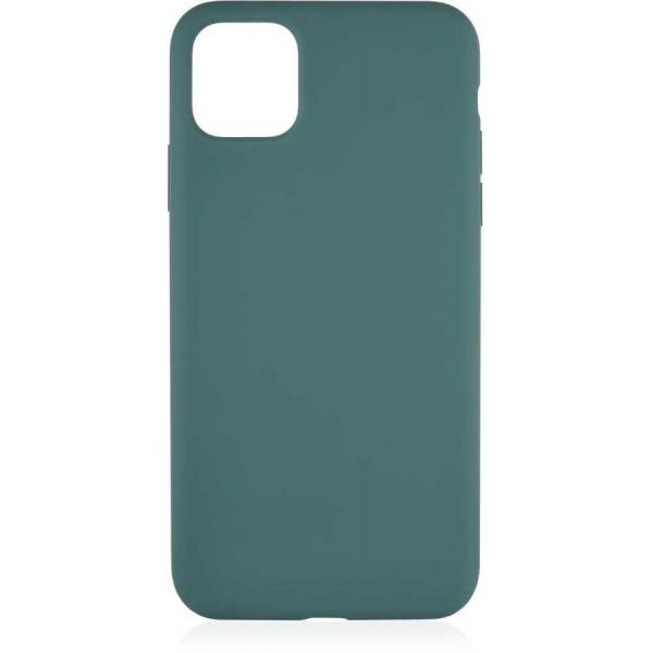 Чехол Soft-Touch для iPhone 12 Pro Max темно-зеленый