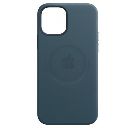 Чехол Leather Case magsafe для iPhone 12 Pro Max синий