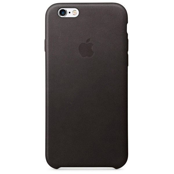 Чехол Leather Case для iPhone 6/6S черный