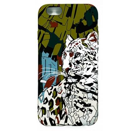 Чехол Luxo леопард для iPhone 6/6S с принтом силиконовы...