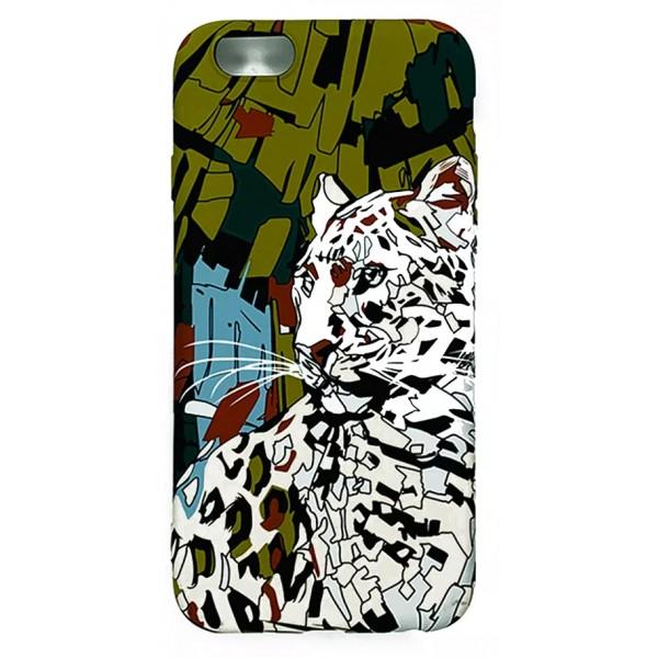 Чехол Luxo леопард для iPhone 6/6S с принтом силиконовый L31