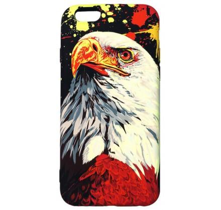 Чехол Luxo орел для iPhone 6/6S с принтом силиконовый D...