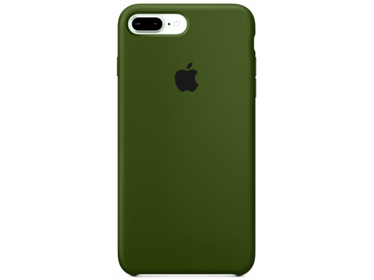 Чехол Silicone Case для iPhone 7 Plus/8 Plus фисташковый в Тюмени