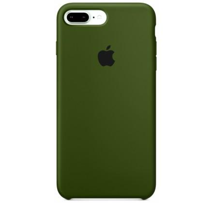Чехол Silicone Case для iPhone 7 Plus/8 Plus фисташковы...