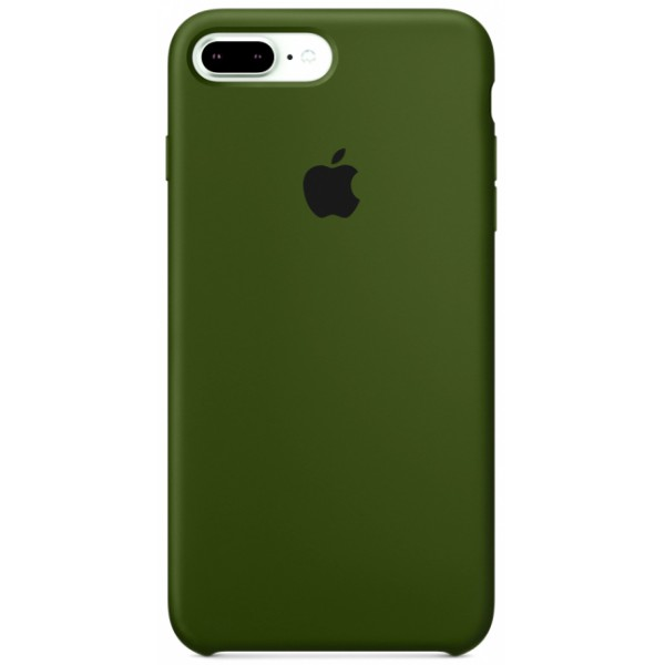 Чехол Silicone Case для iPhone 7 Plus/8 Plus фисташковый