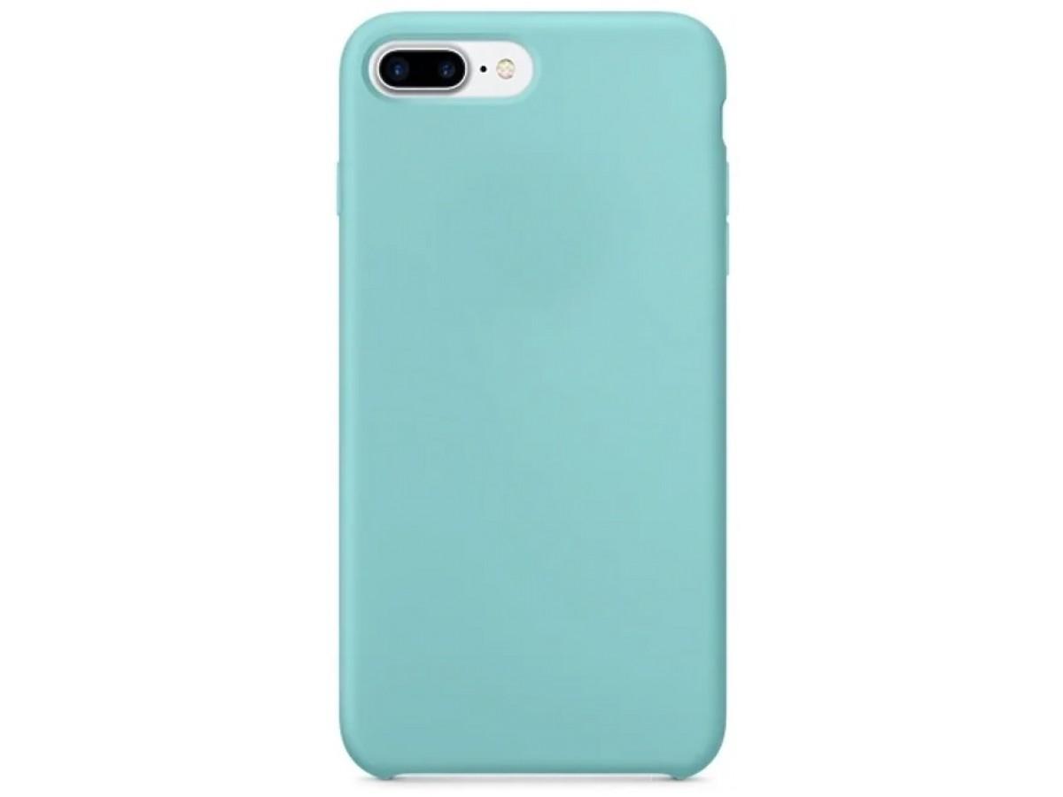 Накладка iphone 7/8 Plus толстая матовая бирюзовая в Тюмени