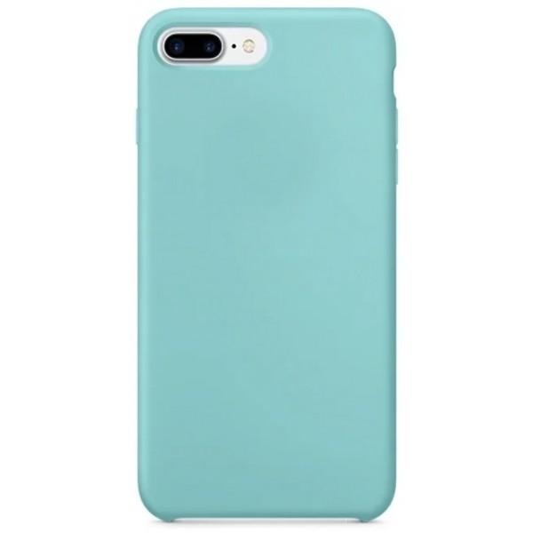 Накладка iphone 7/8 Plus толстая матовая бирюзовая