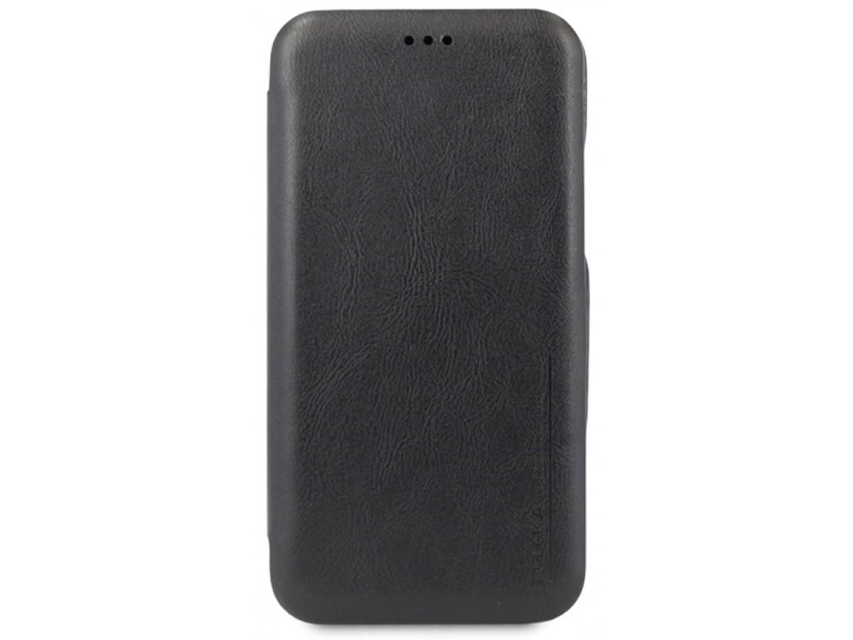 Чехол-книжка Puloka для iPhone Xs Max на магните черная в Тюмени