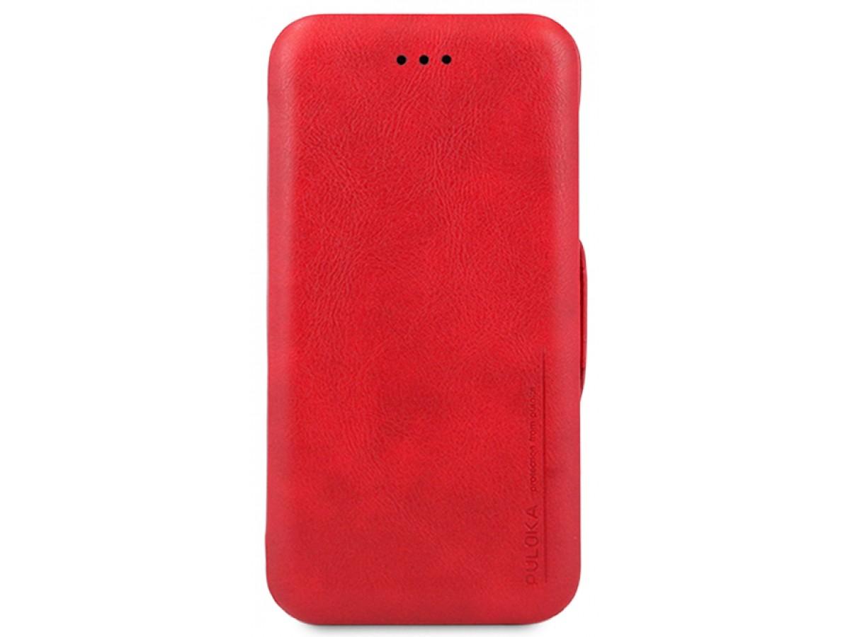 Чехол-книжка Puloka iPhone 7/8 на магните красная в Тюмени
