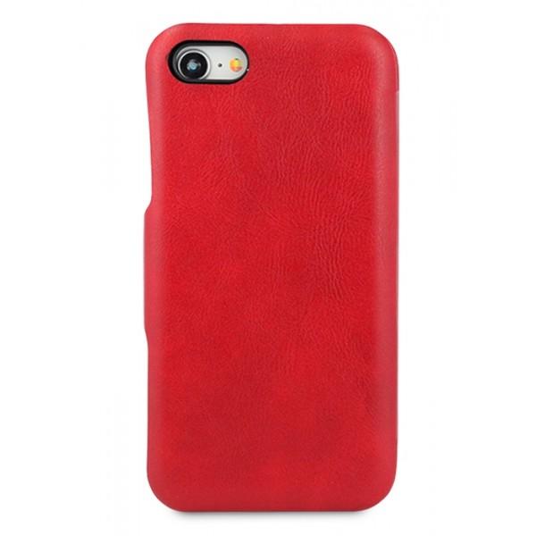 Чехол-книжка Puloka iPhone 7/8 на магните красная