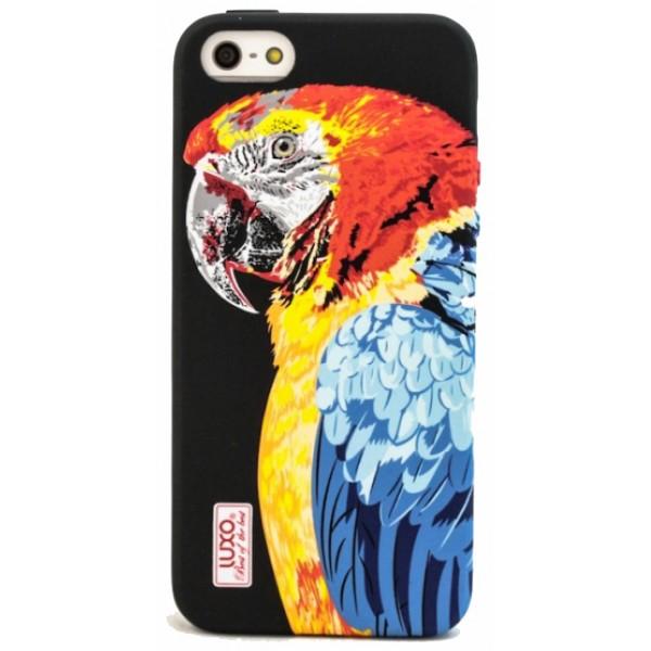 Чехол Luxo животные для iPhone 7/8 с принтом силиконовый