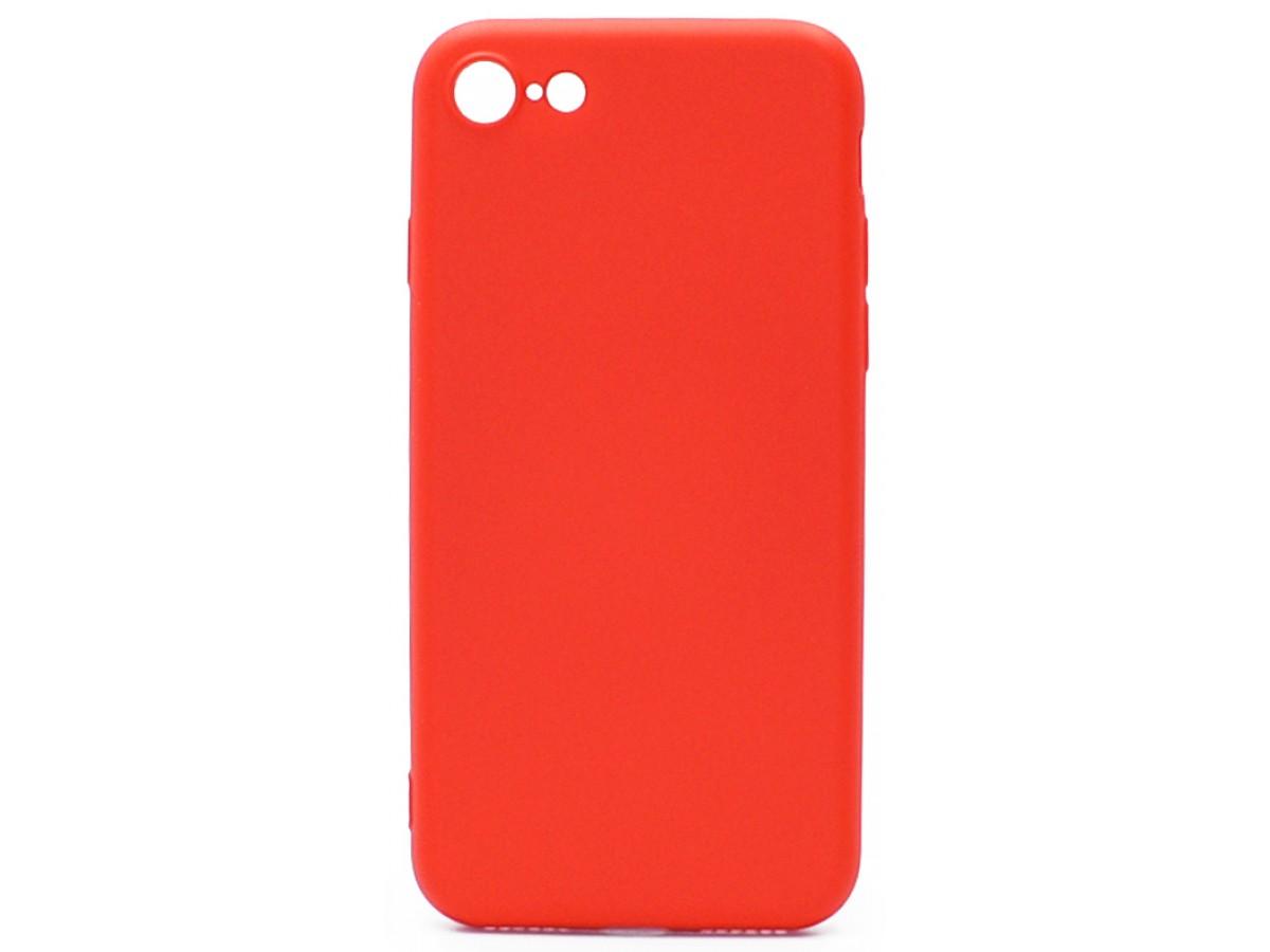 Чехол Soft-Touch для iPhone 7/8 красный в Тюмени