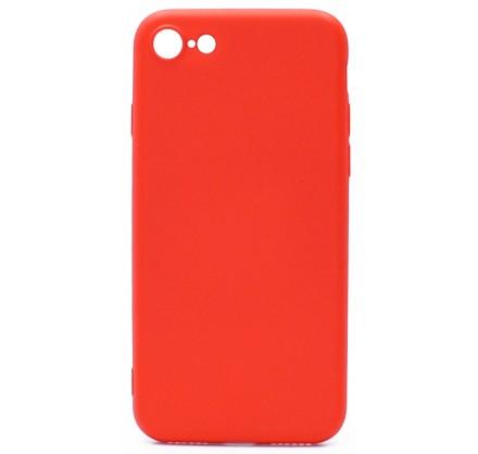 Чехол Soft-Touch для iPhone 7/8 красный