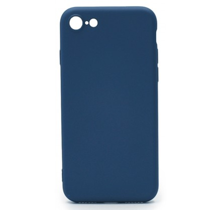 Чехол Soft-Touch для iPhone 7/8 темно-васильковый