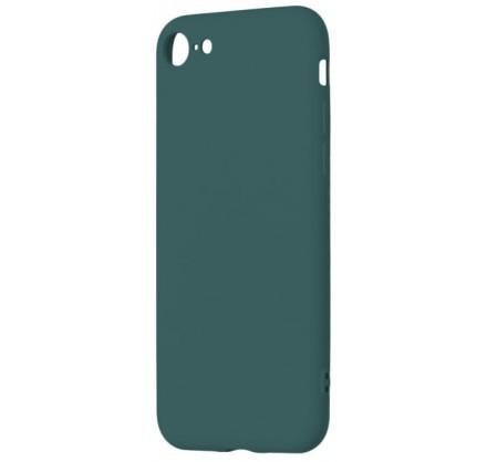 Чехол Soft-Touch для iPhone 7/8 темно-зеленый