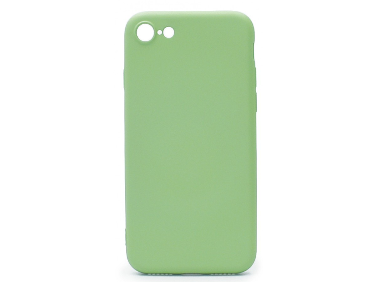 Чехол Soft-Touch для iPhone 7/8 зеленый в Тюмени