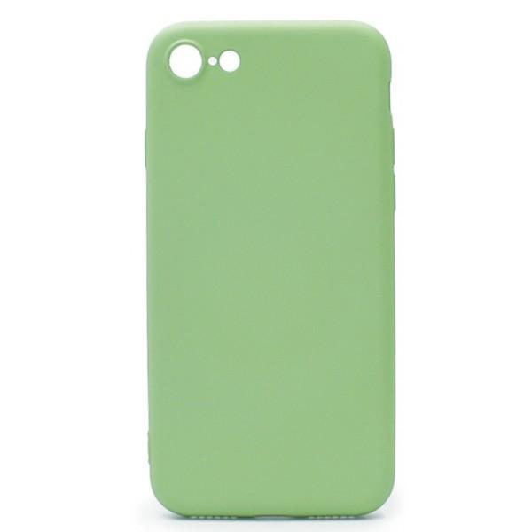 Чехол Soft-Touch для iPhone 7/8 зеленый