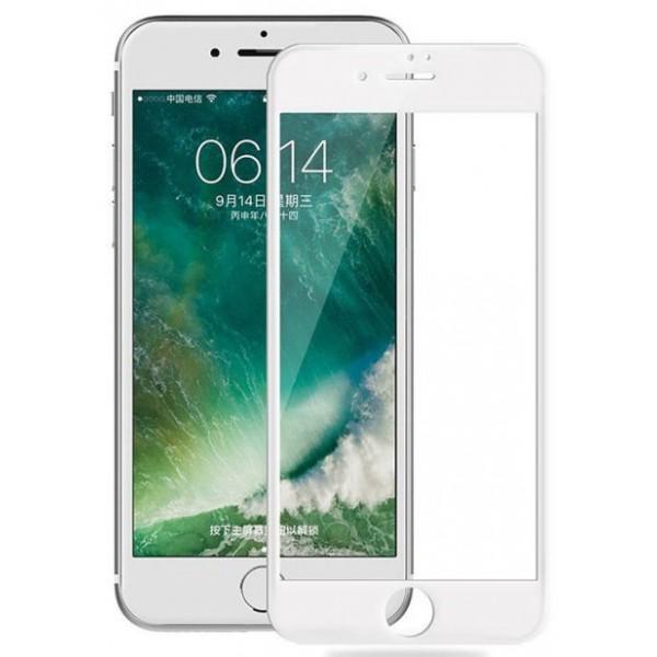 Защитное стекло 3D для iPhone 6 Plus/6S Plus белое Full Glue