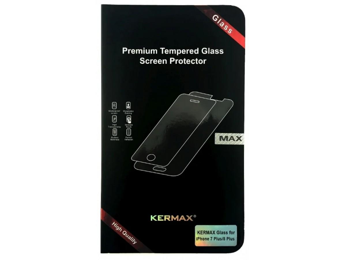 Прозрачное защитное стекло Kermax для iPhone 6 Plus/7Plus/8 Plus в Тюмени