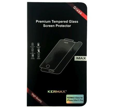 Прозрачное защитное стекло Kermax для iPhone X/Xs/11 Pr...