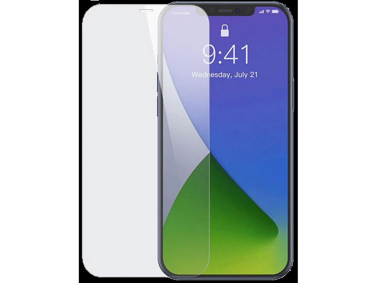 Прозрачное защитное стекло для iPhone 12/12 Pro в Тюмени