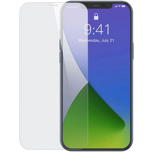 Прозрачное защитное стекло для iPhone 12/12 Pro