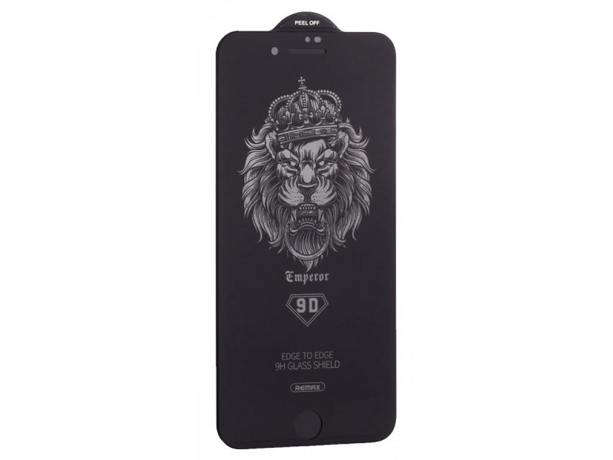 Защитное стекло Remax 3D для iPhone 7/8 черное Full Glue в Тюмени