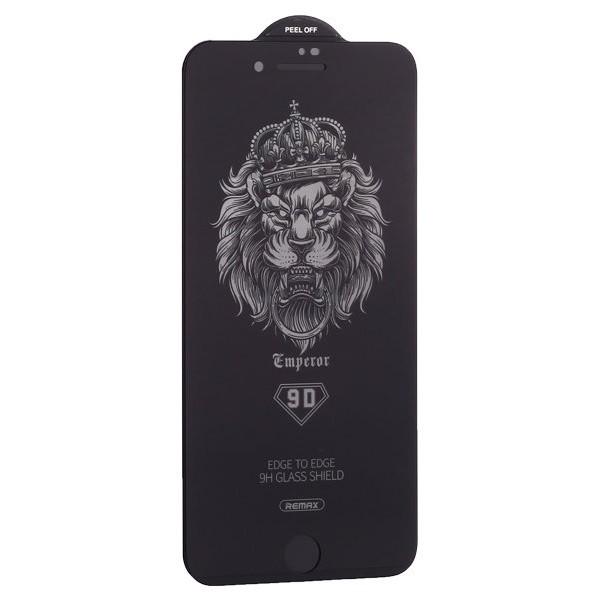 Защитное стекло Remax 3D для iPhone 7/8 черное Full Glue