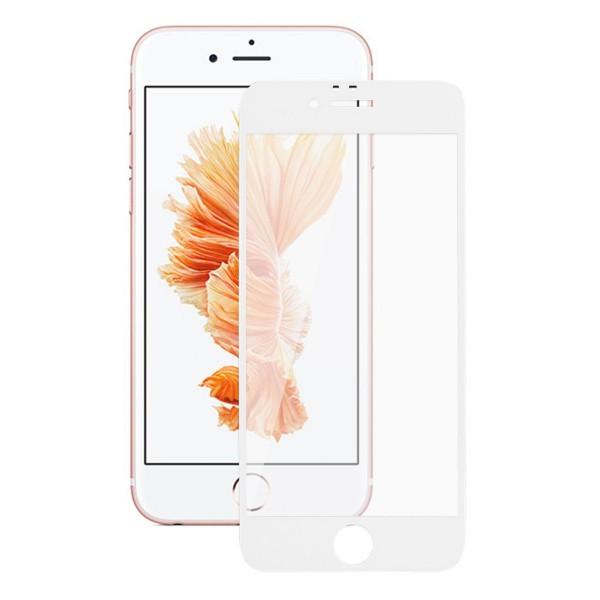 Защитное стекло 3D для iPhone 6/6s белое Full Glue