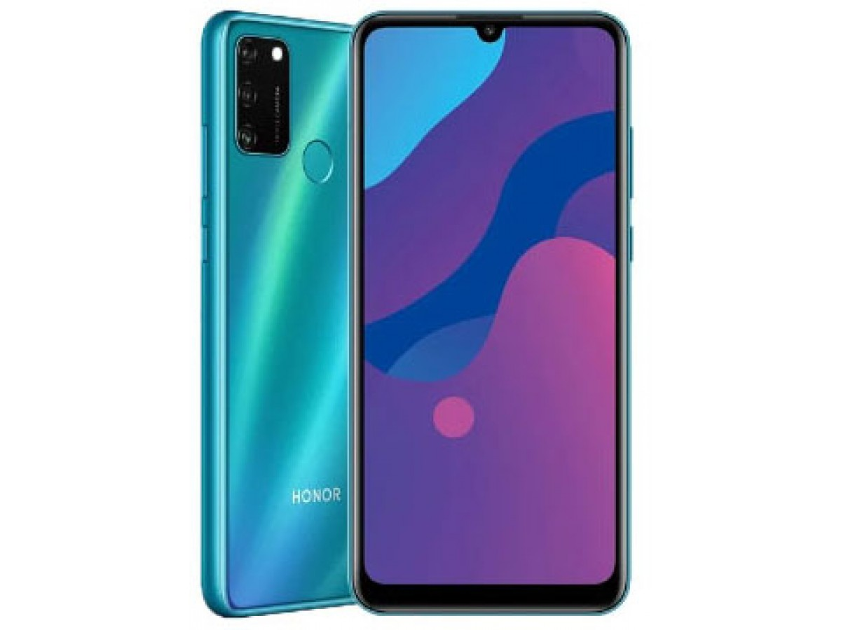 Honor 9a 3/64 GB Ледяной зеленый в Тюмени