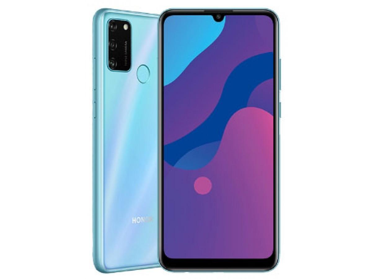 Honor 9a 3/64GB Мерцающий синий в Тюмени
