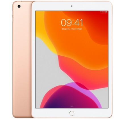Apple iPad (2019) Wi-Fi 32GB (золотой)
