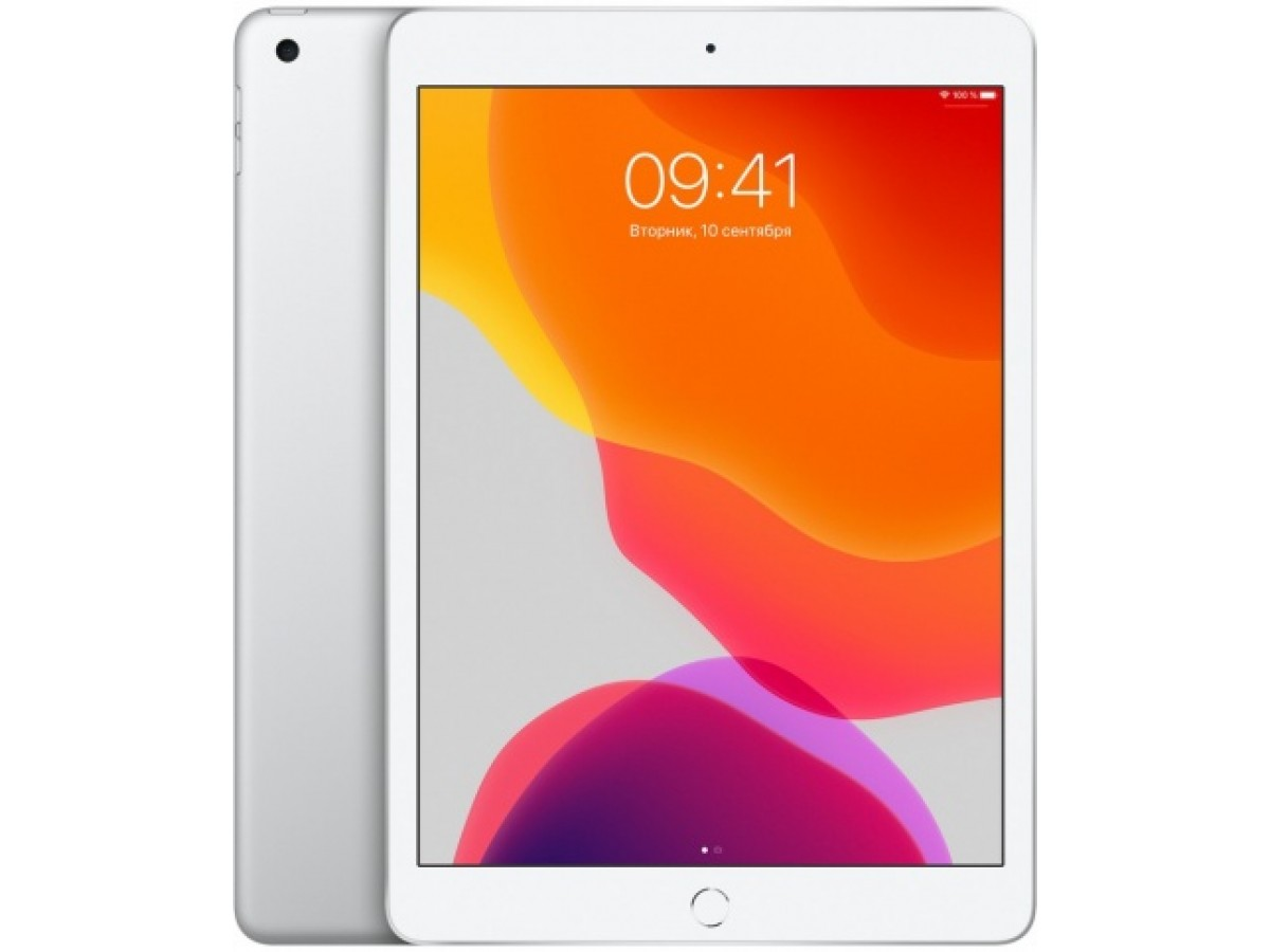 Apple iPad (2019) Wi-Fi 128GB (серебристый) в Тюмени