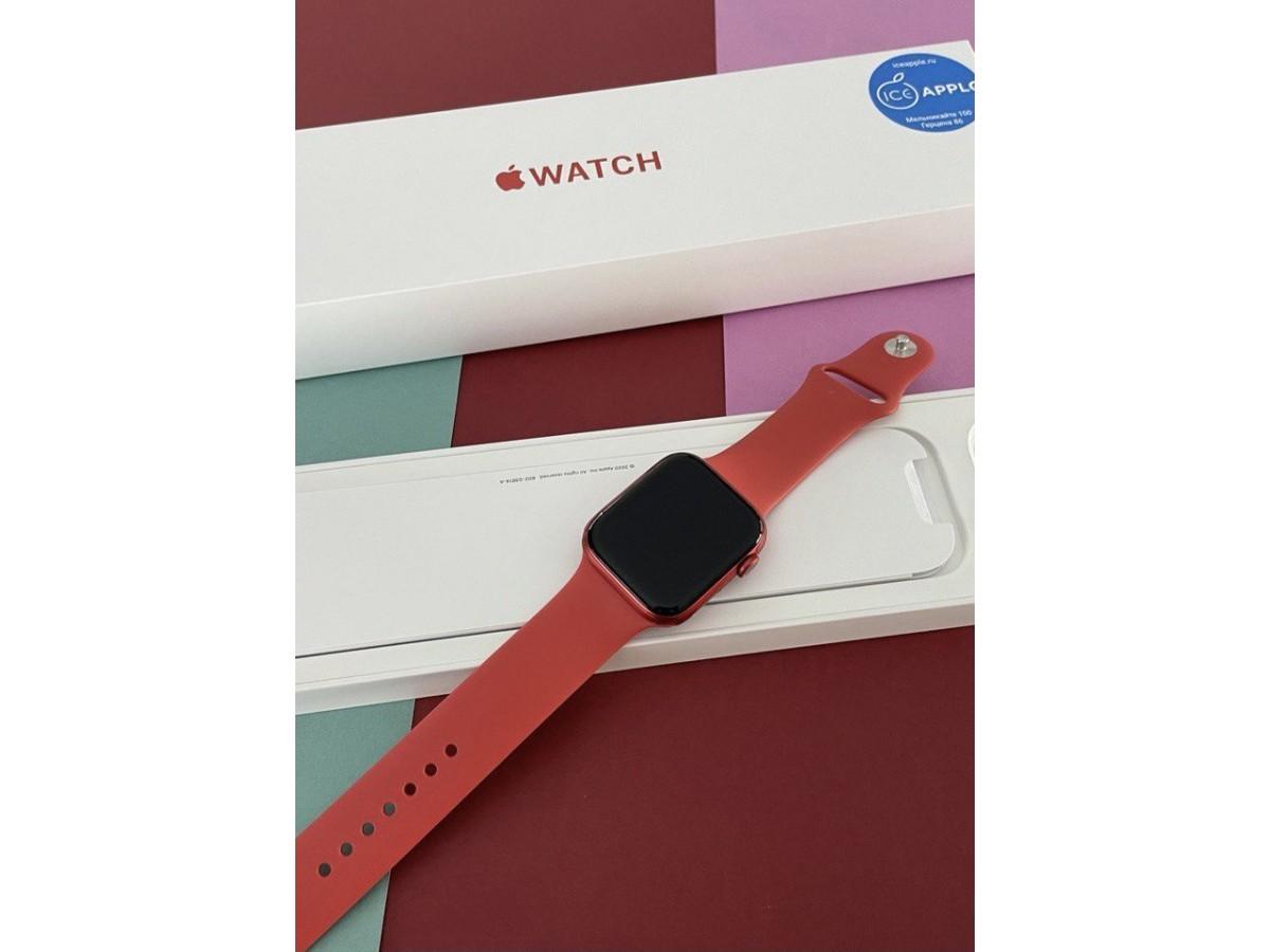 Apple Watch Series 6 40mm Red в Тюмени