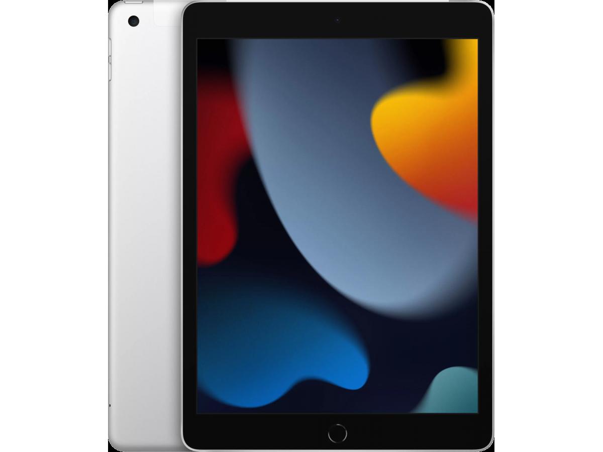 Apple iPad 10,2 (2021) Wi-Fi + Cellular 64GB (серебристый) в Тюмени