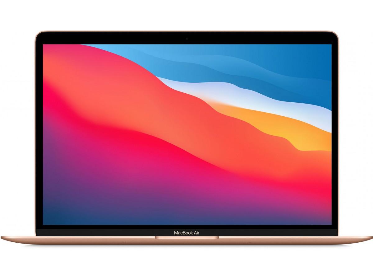 Apple MacBook Air (M1 2020 MGND3RU/A) 8 ГБ, 256 ГБ SSD, золотой в Тюмени