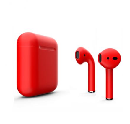 Apple AirPods 2-го поколения (красные)