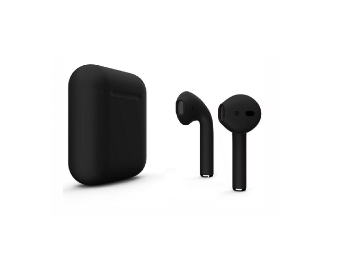 Apple AirPods 2-го поколения (черные) в Тюмени