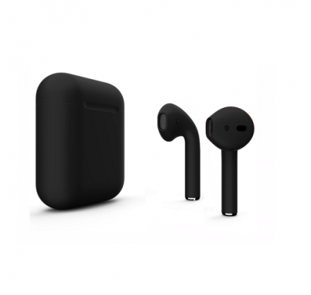 Apple AirPods 2-го поколения (черные)